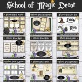 Wizards Theme Classroom Decor Bundle