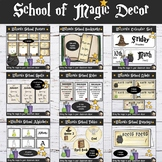 Wizards Classroom Decor Bundle