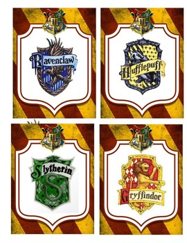 Harry Potter Class Jobs