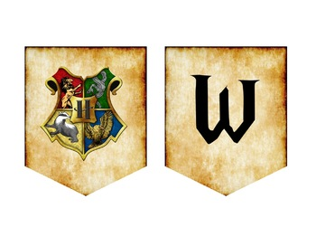 Harry Potter Classroom Banners - EDITABLE