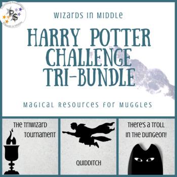 Harry Potter Classroom Challenge Tri-Bundle