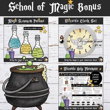 Harry Potter Classroom Decor Bonus Bundle