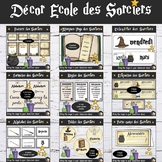 Wizards Classroom Decor Bundle - French Edition