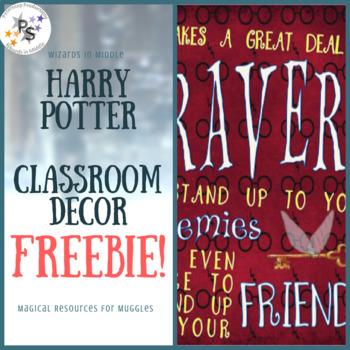 Harry Potter Classroom Decor Freebie!