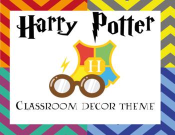 Harry Potter Classroom Decor Theme