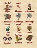 Harry Potter Classroom Jobs