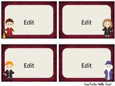 Harry Potter Classroom Labels- Editable