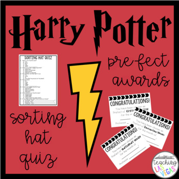 Harry Potter Classroom Sorting