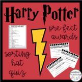 Harry Potter Classroom Sorting