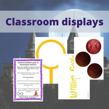 Harry Potter Classroom Systems Decor