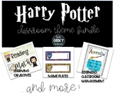 Bundle- Harry Potter Classroom Theme