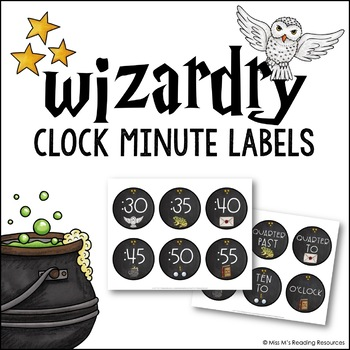 Wizardry Clock Minute Labels