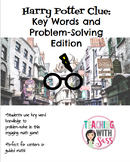 Harry Potter Clue: Key Words and Word Problems