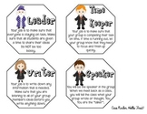 Harry Potter Cooperative Job Cards