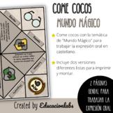 Harry Potter Cootie Catcher in Spanish