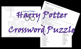 Harry Potter Crossword Puzzle
