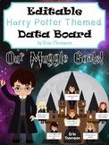 Harry Potter Data Board ~ Editable