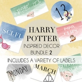 Harry Potter Decor Bundle 2-A Variety of Labels included b
