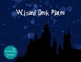 Wizard Desk Plates