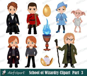 Wizards clipart, fan art clipart,Wizard clipart, Magic Clipart, Part 3