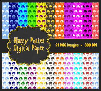 Harry Potter Digital Paper Pack