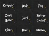 Harry Potter ELL Classroom Labels