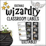 Wizardry Editable Labels
