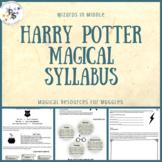 Harry Potter Editable Magical Syllabus