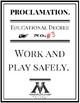 Harry Potter Education Proclamation Educational Degree