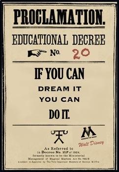 Harry Potter Educational Decree Poster Bundle