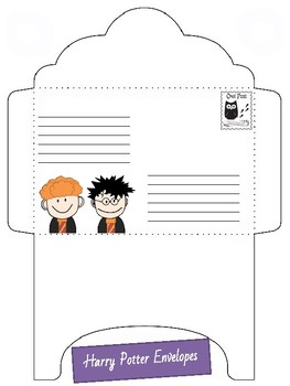 Harry Potter Envelopes