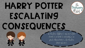 Harry Potter Escalating Consequences