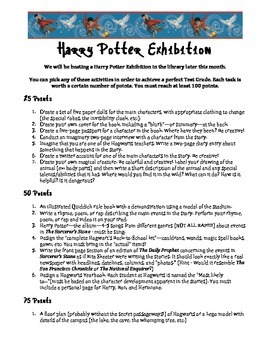 Harry Potter Exhibition Project