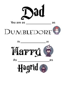 Harry Potter Father's Day
