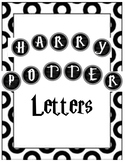 Harry Potter Font Alphabet *UPDATED