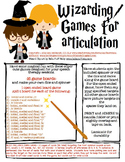 Articulation Wizarding Games