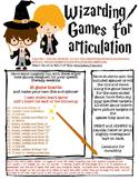 Articulation Wizarding Games