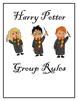Harry Potter Group Rules