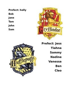 Harry Potter Groups