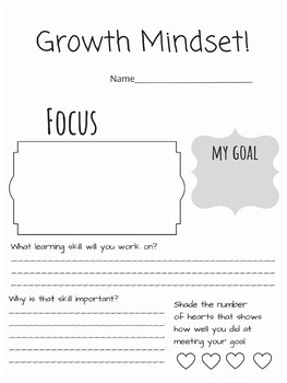 Harry Potter Growth Mindset Classroom Decor Theme J.K. Rowling Poster