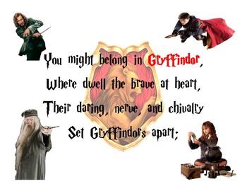 Harry Potter Gryffindor Poster