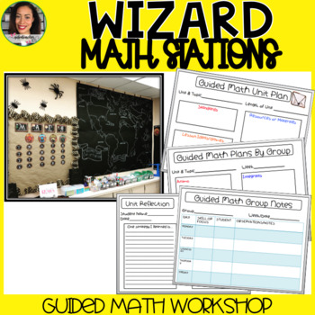 Harry Potter Guided Math Stations