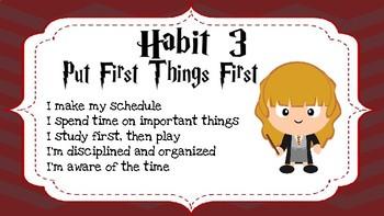 Harry Potter Habits