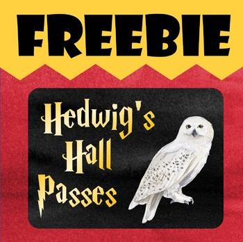 Harry Potter Hall Passes