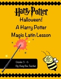Harry Potter Halloween Latin Lesson