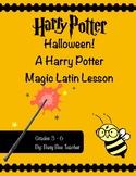 Harry Potter Halloween Latin Lesson