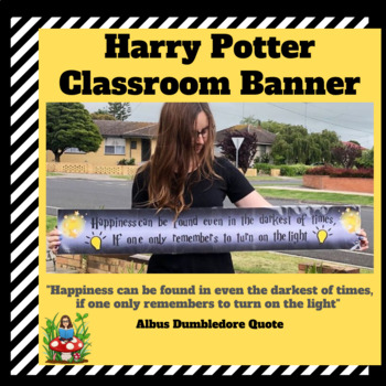 Harry Potter 'Happiness' Banner