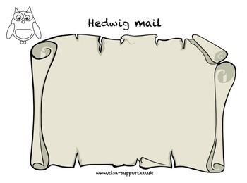 Harry Potter - Hegwig's mail