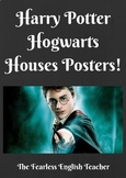 Harry Potter Hogwarts Houses Posters