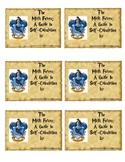Harry Potter Hogwarts Ravenclaw House Inspired Journal Labels